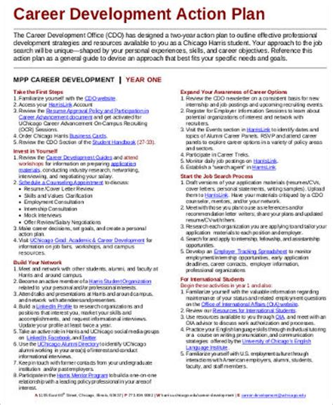 career development plan template 38 exles of plan sle templates