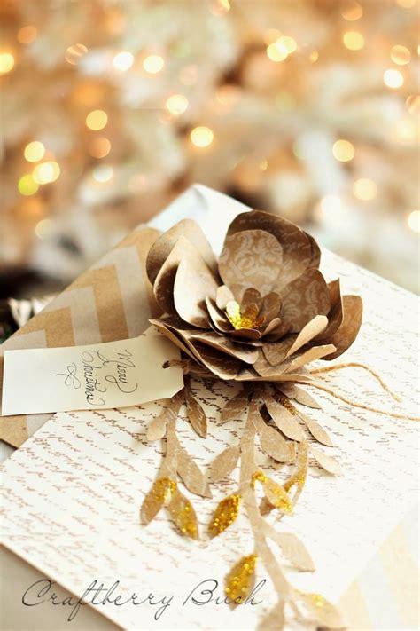 golden glitter christmas paper flower allfreepapercraftscom