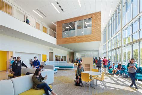 innovative high school clark nexsen  architect