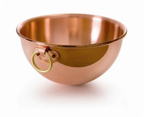 mauviel unlined copper bowlperfect mate  beating egg white