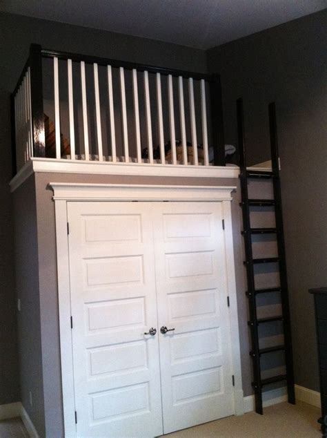 17 best ideas about loft closet on loft ideas