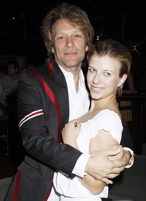 First Picture Jon Bon Jovi Daughter Stephanie Steps Out