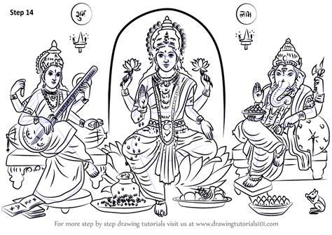 Saraswati Coloring Pages - Sanfranciscolife