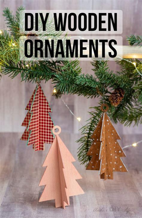 diy wooden christmas ornaments  cricut maker