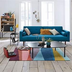 Canapé Bleu Convertible : choisir son canap convertible tous nos conseils marie claire ~ Teatrodelosmanantiales.com Idées de Décoration