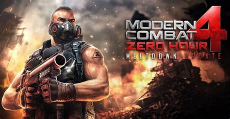 modern combat 4 update modern combat 4 zero hour meltdown update for android brings new maps weapons and more