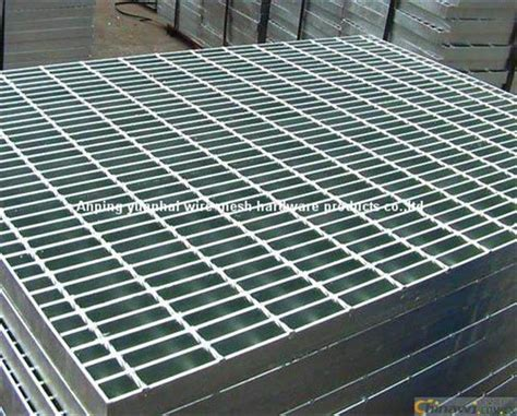 Durable Galvanized Steel Grating Panels Flooring And