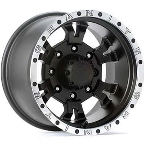 granite wheels and granite alloy wheels