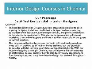 interior design courses in chennai guindy tambaram With interior design online courses in chennai