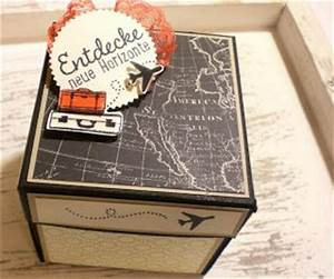 Geschenk Verpack Ideen : 25 best ideas about reisegutschein verpacken auf pinterest reisegutschein basteln ~ Markanthonyermac.com Haus und Dekorationen