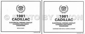 1981 Cadillac Repair Shop Manual And Body Manual On Cd