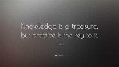 Knowledge Quote Key Quotes Treasure Practice Motivational