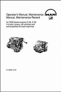 Man D08 Series Diesel Engine Operators Manual And