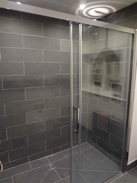 fantastic bathrooms  finished  grey slate