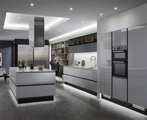 balham gloss dove grey kitchen howdens joinery