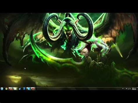 Animated Wallpaper Tutorial - tutorial illidan stormrage animated wallpaper doovi