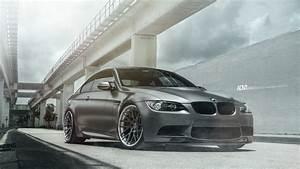 Wallpaper BMW M3, Frozen Grey, ADV1 Wheels, 4K, Automotive