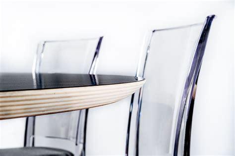 tavolo  trasparente design policarbonato ometto