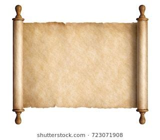 ancient scroll images stock  ancient scroll