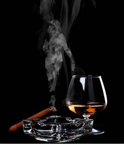 Whiskey Cigar Cigars Smoke Cuban Glasses Gifs