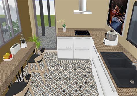 simulation 3d cuisine plan maison 3d logiciel gratuit pour dessiner ses plans 3d