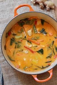 Thai Red Curry Chicken - Eat, Live, Run