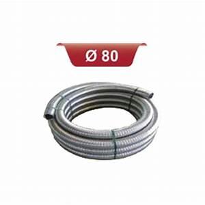Tubage Flexible Inox 180 : rouleau de tubage double peau 80 longueur 30m ~ Premium-room.com Idées de Décoration