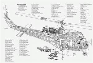 Bell-huey-helicopter-parts-diagram-nomenclature