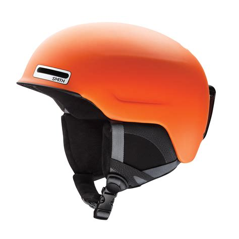 matte orange smith maze helmet matte orange