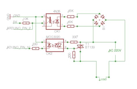 Controlling Triac Using Digital Pot For Dimmer