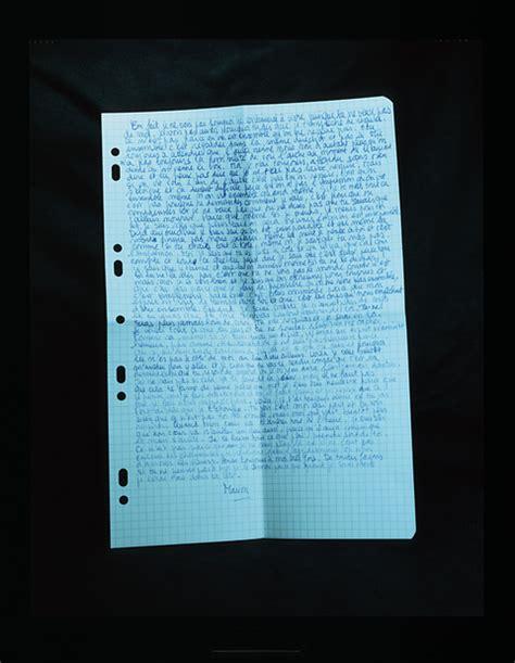 Lettere Di Suicidi by Comme Mon Arr 234 T De Mort Une Lettre De Apr 232 S La Fin Du