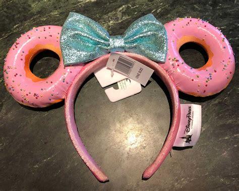 disneyland  selling donut mouse ears   good