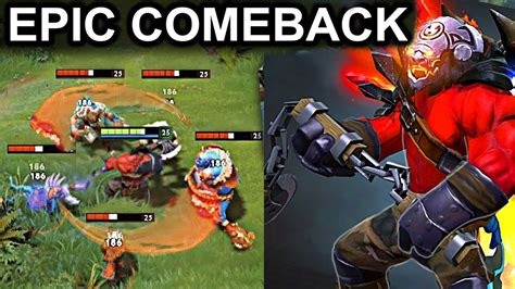 epic comeback axe patch 7 08 dota 2 new meta gameplay maelstrom axe youtube