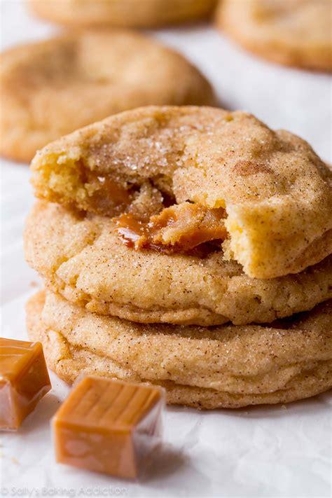 soft caramel snickerdoodles sallys baking addiction