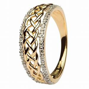 ladies celtic knot diamond ring With ladies celtic wedding rings