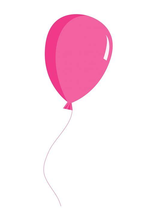 balloonpinkclipartscrapbookingillustration