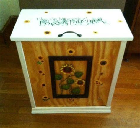 homemade trash bin crafts thriftyfun