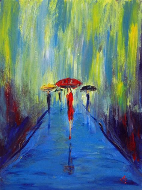 rain painting ideas  pinterest paint