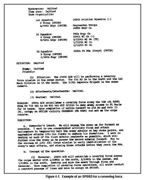 opord template fm 34 35 combat operations