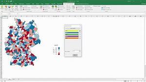 Neue Version Der Excel Karte Am Beispiel Von Deutschland