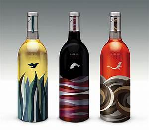 50 exquisite wine label design samples design juices for Create wine bottle labels