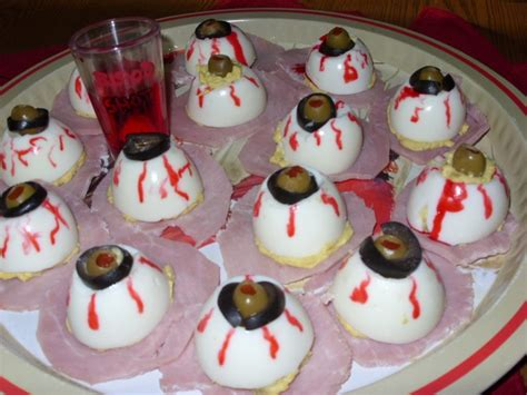 Dunkin Donuts Pumpkin Donut Nutrition by 28 Halloween Deviled Eggs Eyeballs Mom What S For