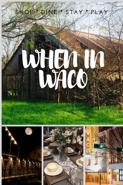 texas vacations waco eat where