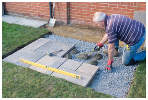 how to install paving slabs clearance paving