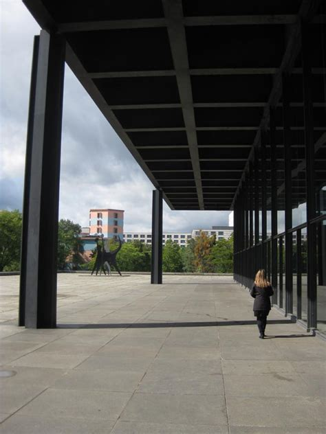 national gallery berlin architecture mies van der rohe  architect