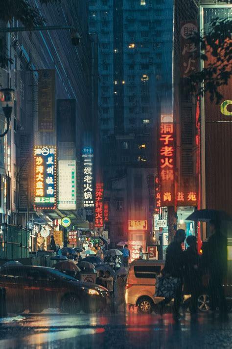 chongqing  cyberpunk city  southw hd photo