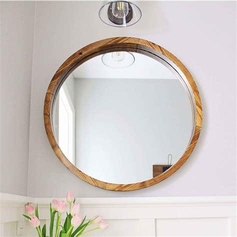 Runde Spiegel Mit Rahmen by Wood Mirror Diy Angela Made