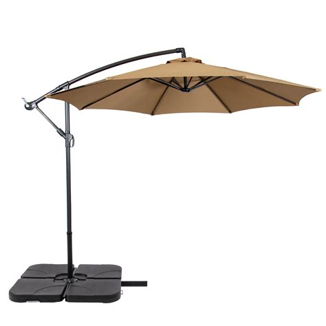 cantilever umbrella base  piece universal fit water