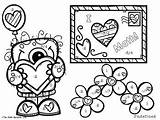 Slope Coloring Activity Finding Edition Valentine Freebie Designlooter Valentines 12kb 263px Nerdette Math sketch template