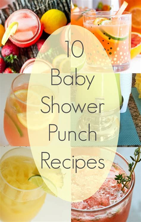 Baby Shower Drinks · The Typical Mom